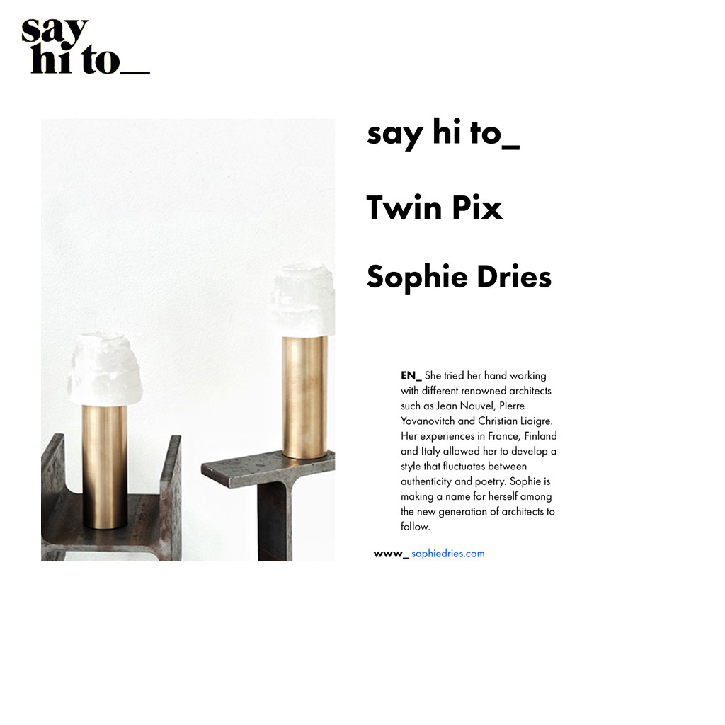 SOPHIE DRIES ARCHITECT PRESS
